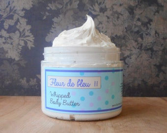 Fleur de Bleu 2 Whipped Body Butter - Limited Edition Spring Scent