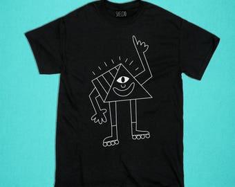 Black T-shirt - Pyramid Eye