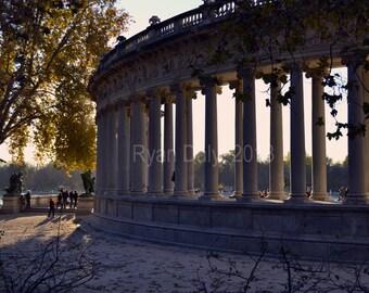 Parque del Retiro Madrid, Spain custom decor photography print: 4x6 6x9 8x10 8x12 10x15 11x17 12x18 20x30 24x36