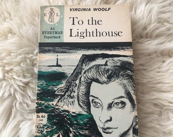 To the Lighthouse Virginia Woolf Vintage Paperback Classic Book