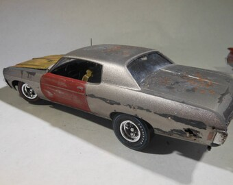 ScaleModel,RatRod,ChevyCar,ChevroletCar,JunkerCar,MuscleCar,RustedWreck