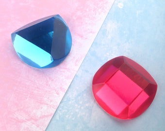 Ruby and Sapphire Steven Universe Resin Cosplay Gems