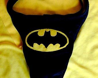 Super Hero Bat Thong