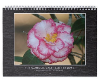 The Camellia Calendar For 2017
