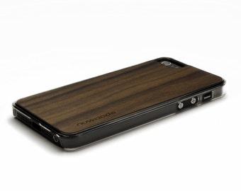 iPhone 5 Case Wood Walnut, Wood iPhone SE Case, iPhone 5S Case Wood