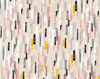 100% Organic Geometric Quilting Fabric - [[by the half yard]]