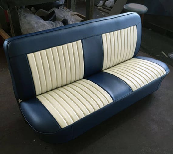 Pleats And Bolsters Oh My Custom Upholstery Cover Chevy C 10