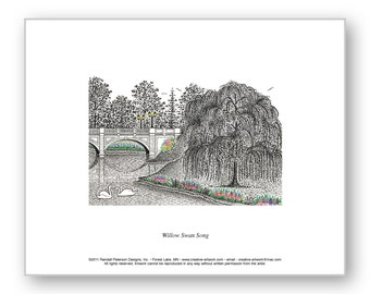 Willow Swan Song - Limited Edition Print