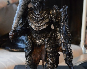 Dark Souls Havel statue hand made limited edition sculpture