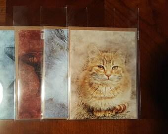 Feline Friends - Notecard Set