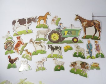 Mid Century Instructo Activity Set Farmyard - Instructo Activity 1050