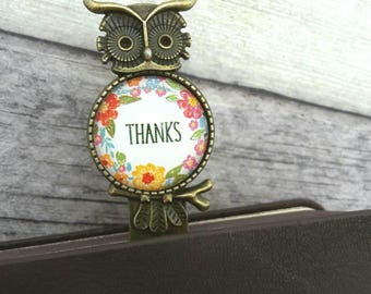 Thank you bookmark, Gift for teacher, Metal bookmark, Book lover gift, Graduation gift, Gift with  the word thanks, Appreciation gift