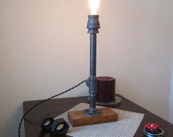 Edison Lighting, Steampunk Lighting, Industrial Lighting, Steampunk Lamp, Desk lamp, Industrial Lamp, Edison Lamp, Brass Lamp, Table Lamp,