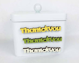Thank You Kitchen Magnet, Gratitude Fridge Magnet, Say Thanks Magnet, Thanks Gift For Home, Thanks Toilet Magnet