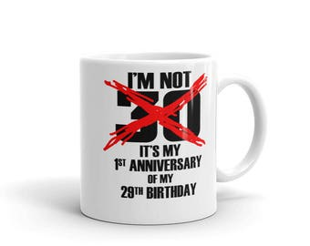 30th Birthday Coffee Mug Gift Idea