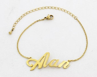 Custom Name Bracelet, custom name, name bracelet, gift for her, baby name gift, girlfriend gift,