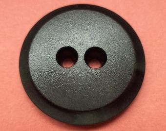 10 buttons 20mm black (1650) button jacket buttons