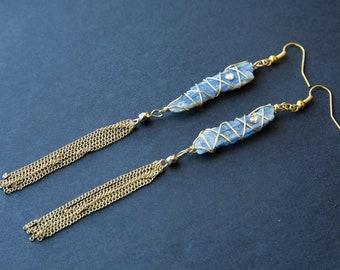 Kyanite Duster Earrings