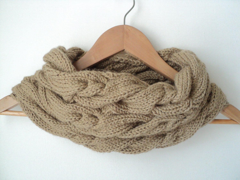 Luxury Knit Infinity Scarf Pattern Free Image - Blanket Knitting ...