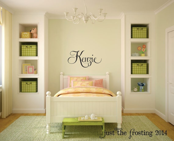 Name Decal Children Decor Monogram Wall Decal Nursery