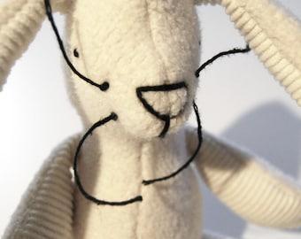 Eco Organic Natural Large Bunny Rabbit Doll Stuffed Animal Toy