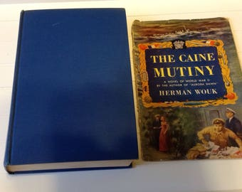 The Caine Mutiny / Herman Wouk / 1951 First Edition