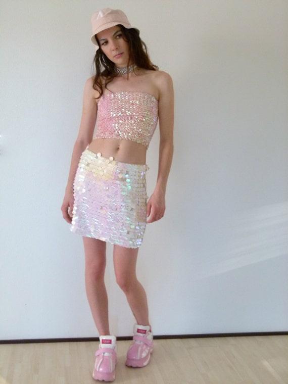 Mermaid Sequins Skirt