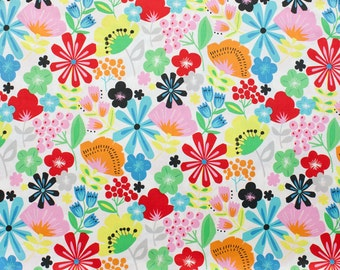 Alexander Henry - Pretty Poppy - Item #8330A - Natural Bright