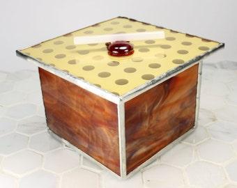 Glass Jewelry Organizer Jewelry Storage Box Trinket Holder