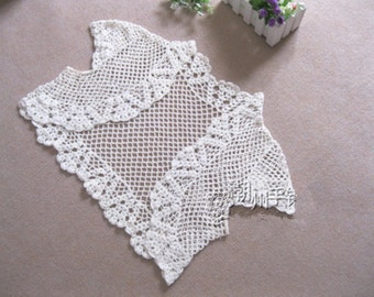 Boho Wedding Crochet Bridal Bolero Jacket