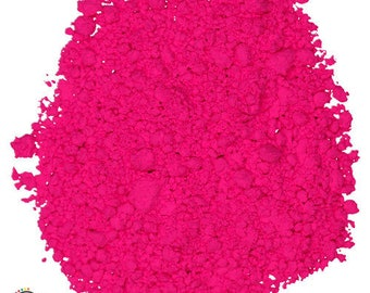 Magenta Fluorescent Powder - UV Reactive