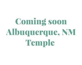 Embroidered Albuquerque New Mexico Temple