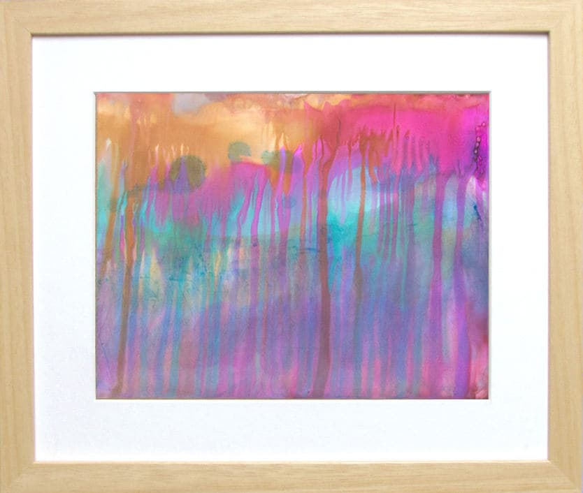 Fuchsia Art Colorful Abstract Painting Colorful Wall Art Alcohol Ink  Painting Drip Art Home Decor Gifts Gift For Her Watercolor Home Decor