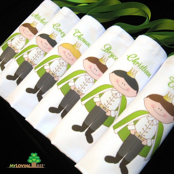 Prince charming bag prince birthday party favors ideas toddler