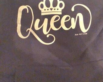 King Queen hoodie