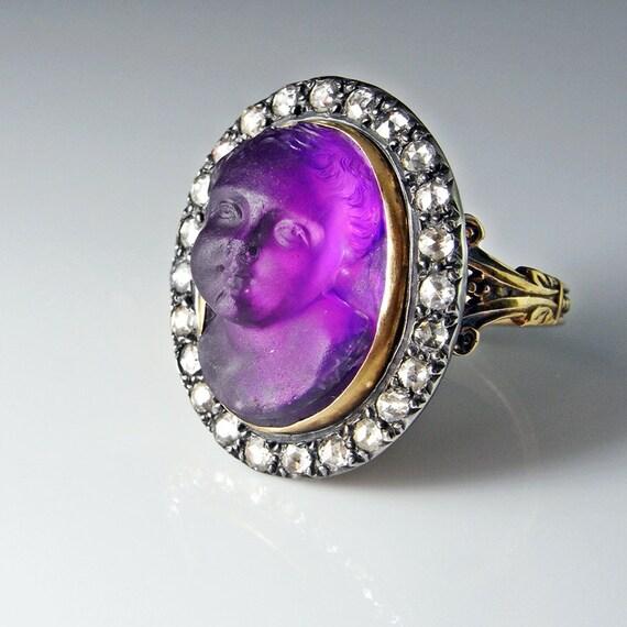 Georgian Ring 18th Century Jewelry Georgian Cameo Ring Antique
