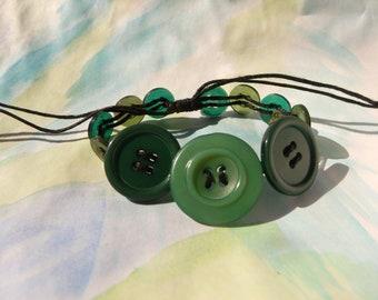 Button Vine Bracelet