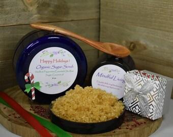 Happy Holidays Organic Sugar Scrub
