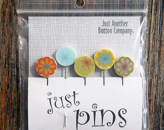 Notions: Just Pins - Lemonade Mixed JP104M - Decorative Pins