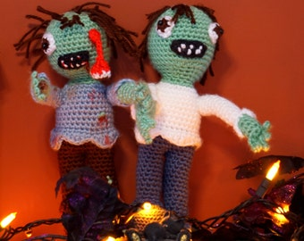 Zedd the Zombie Amigurumi