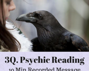 Same Day 3 Question Psychic Reading - Accurate psychic Medium Readings Well Known Experienced and Trusted Intuitive Clairvoyant Raven Sky