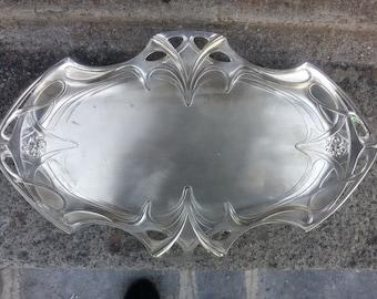 WMF  art noueveau silverplate tray