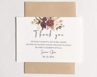 R O S E A I L Y | Thank You Cards