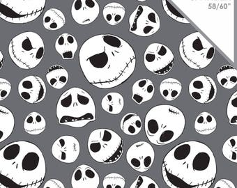 Stretchy Disney Nightmare Before Christmas Cotton Knit fabric