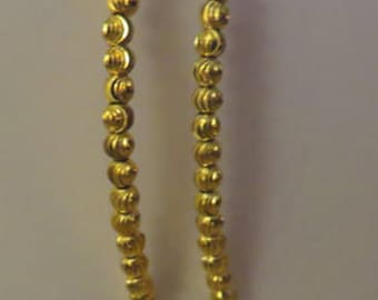 """Dangle """"V"""" Earrings - One Pair in Gold - One Pair in Silver - Both Ready to Ship"""