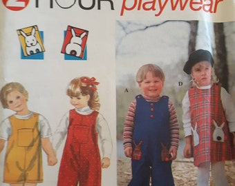 Simplicity 9230, Toddler's Jumper and Jumpsuit Sewing Pattern