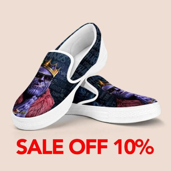 Shoes Thanos shoes Art on Shoes Slip Comic On Custom War Shoes Infinity Custom on Avengers Vans Thanos Custom Marvel Slip Marvel slip ra8Erpxqw