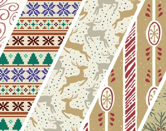 Winter Wallflowers - a pattern and icon font