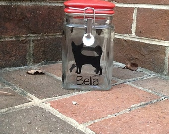 Dog Treat Canister (small or large)