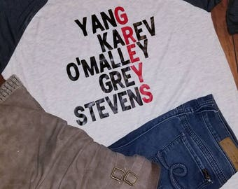 Grey's Anatomy Raglan